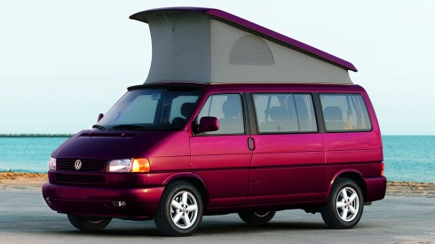 VW Eurovan Westfalia Camper with Top Open