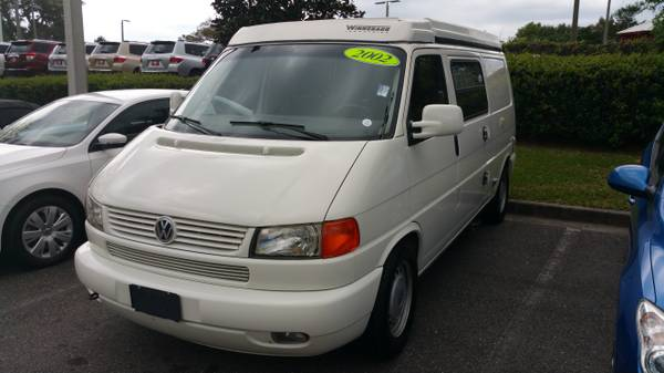 2002 vw eurovan camper 6 cylinders for sale in st for St augustine craigslist