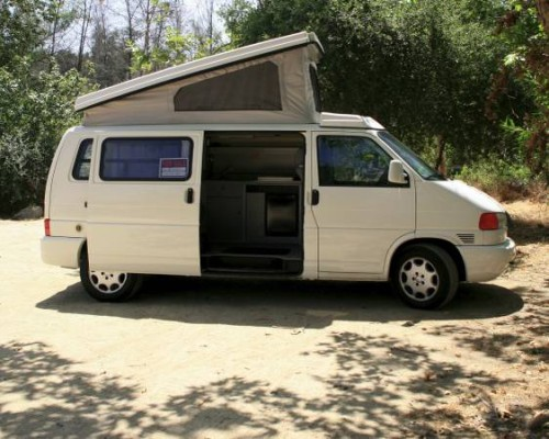 2000 vw eurovan camper vr6 auto for sale in pasadena california. Black Bedroom Furniture Sets. Home Design Ideas