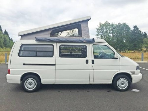 1997 vw eurovan camper winnebago vr6 for sale in vancouver washington