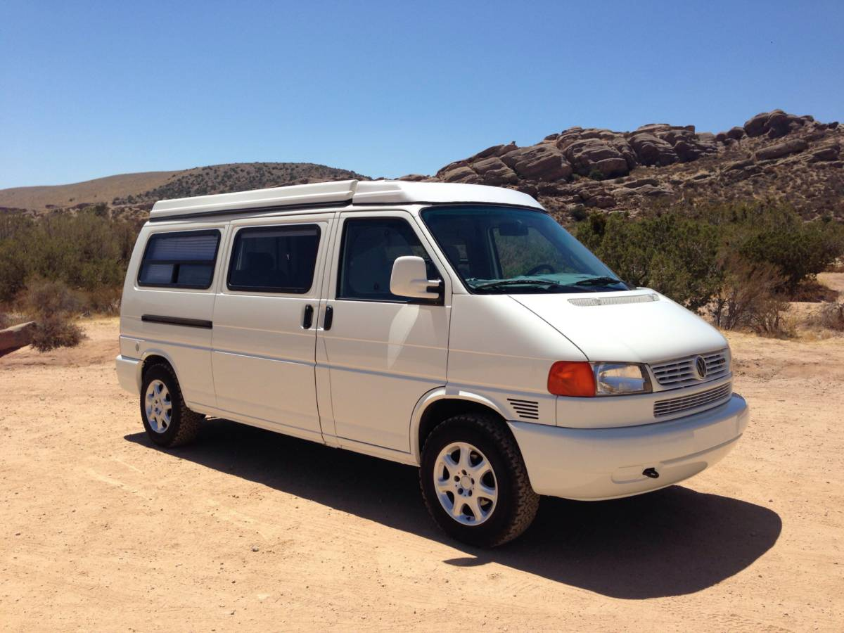 1997 vw eurovan camper 12v vr6 auto for sale in los angeles california. Black Bedroom Furniture Sets. Home Design Ideas