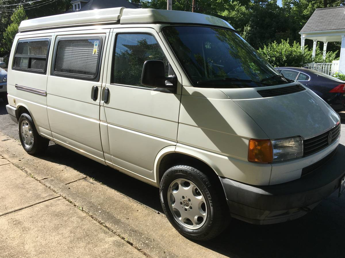 1995 vw eurovan camper v5 auto for sale in arlington county virginia. Black Bedroom Furniture Sets. Home Design Ideas