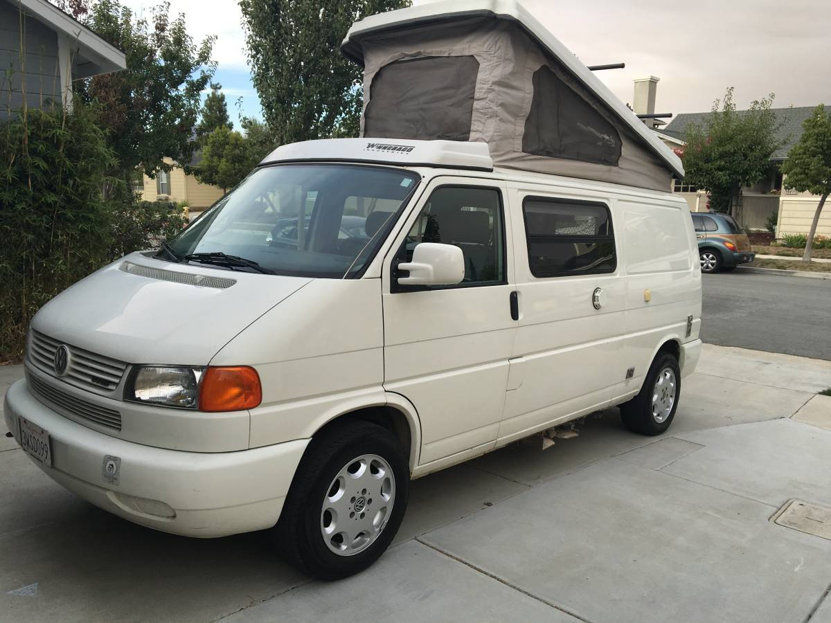 1997 vw eurovan camper automatic for sale in san luis obispo california. Black Bedroom Furniture Sets. Home Design Ideas