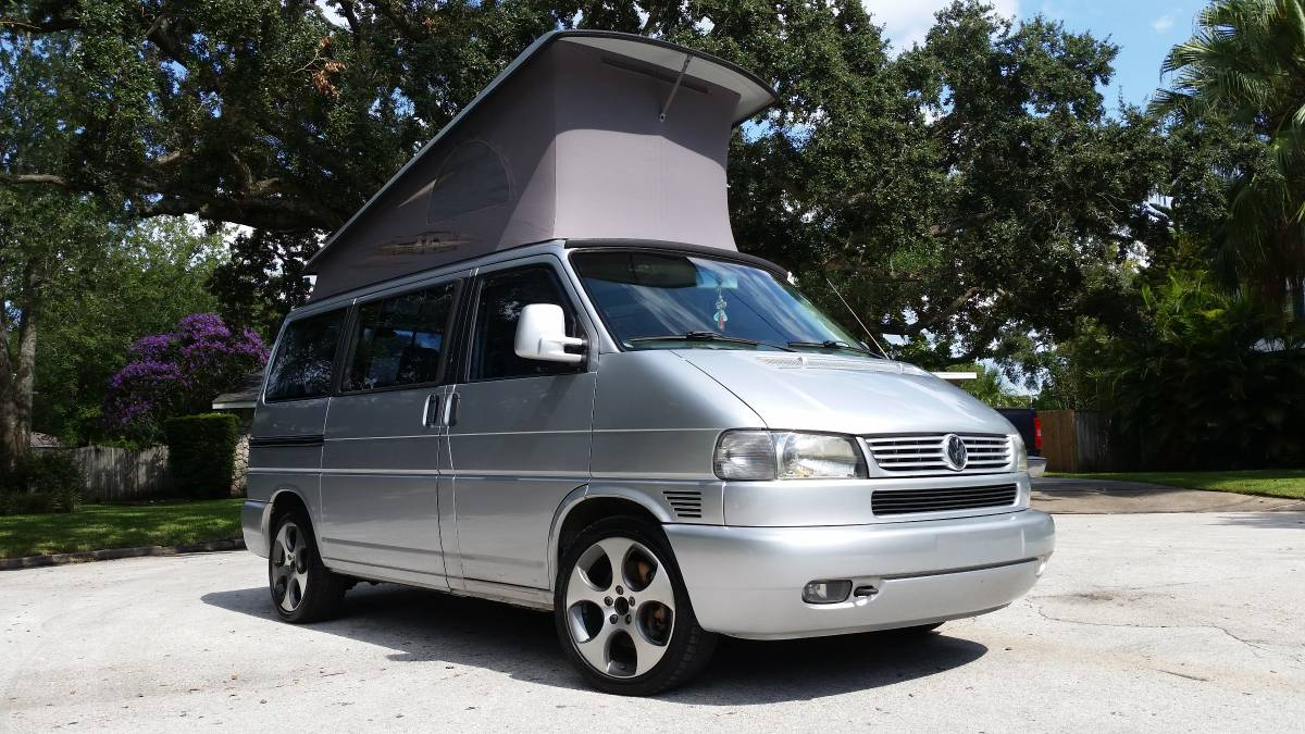 2003 vw eurovan camper v6 automtic for sale in orlando florida. Black Bedroom Furniture Sets. Home Design Ideas